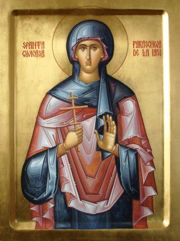 Rugăciune către Sfânta Cuvioasă Parascheva de la Iași, pentru potolirea urii și a cerbiciei celor care hulesc cinstirea sfinților (a Episcopului Macarie Drăgoi)