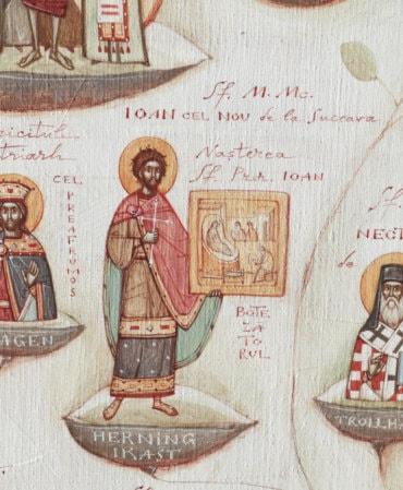 Rugăciune către Sfântul Mare Mucenic Ioan cel Nou de la Suceava și către Sfântul Voievod Martir Constantin Brâncoveanu, ajutători în lucrarea de apostolat a laicatului   (a Episcopului Macarie Drăgoi)