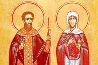 Rugăciune către Sfântul Sfințit Mucenic Montanus preotul și soția sa, Maxima, pentru ajutorarea familiilor slujitorilor Altarului (a Episcopului Macarie Drăgoi)