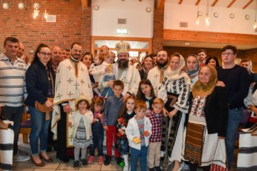 """His Grace Bishop Macarie: """"It is up to us to receive the loving and saving hand of Christ the Savior who takes us out of the crazy spiral of the cares of the world"""""""