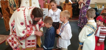 These days, His Grace Father Bishop Macarie of Northern Europe was on a pastoral visit to the Romanians in southwestern Sweden