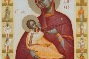 """Rugăciune înaintea icoanei Maicii Domnului """"Alăptătoarea"""" (a Episcopului Macarie Drăgoi)"""