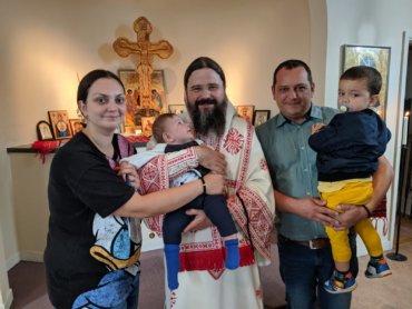 Preaiubiții mei, Astăzi, 14 septembrie 2019, în cadrul Sfintei Liturghii de hram, la Praznicul Înălțării Sfintei Cruci,  pe care am săvârșit-o în mijlocul românilor din orașul suedez Växjö, am trăit o mare bucurie, pe care aș dori să v-o împărtășesc …
