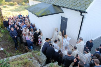 A fost sfinţită prima biserică ortodoxă românească din Regatul Norvegiei