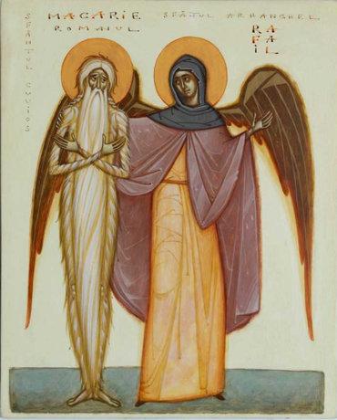 Troparul Sfântului Cuvios Macarie Romanul