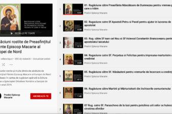 Nouă apariție: versiunea audio a cărții de rugăciuni îngrijită de Părintele Episcop Macarie al Episcopiei Europei de Nord