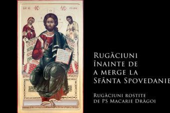 Rugăciuni înainte de a merge la Sfânta Spovedanie