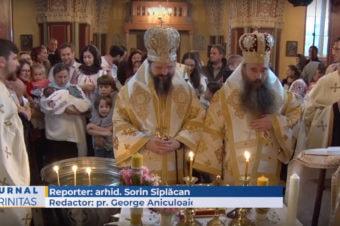 Doi ierarhi au slujit în biserica Parohiei ortodoxe românești din Copenhaga