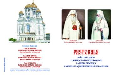 Pastorala Sfântului Sinod la prima duminică a Postului Naşterii Domnului
