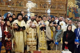 With the blessing of His Grace Father Bishop Iustin of Maramures and Satmar, on Sunday, December 29, 2019, His Grace Father Bishop Macarie of the Diocese of Northern Europe performed the Divine Liturgy in the parish church of Libotin, Maramures County (Romania) …