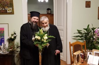 I thank the All-merciful God that before returning to Stockholm, I experienced the joy of meeting in Cluj with our Spiritual Fathers, The Most Blessed Metropolitan Andrei and His Grace Bishop Vasile Somesanul. Our gentle Father Bishop Vasile celebrated his 71st birthday yesterday …