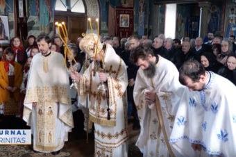 Episcopul Macarie a slujit în satul natal