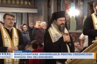 Binecuvântare arhierească pentru credincioșii români din Helsingborg