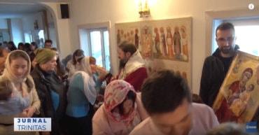 Paraclisul Centrului Episcopal din Stockholm și-a sărbătorit hramul (video)