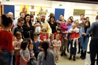 PS Părinte Episcop Macarie Drăgoi despre cum l-a îmbrăcat un copil prin milostenie pe Mântuitorul Hristos, Aalesund, Norvegia, 15. 12. 2019