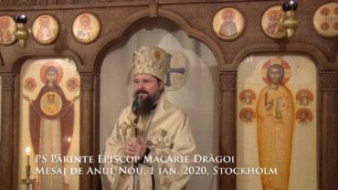 PS Părinte Episcop Macarie Drăgoi Mesaj de Anul Nou, 1 ianuarie 2020, Stockholm