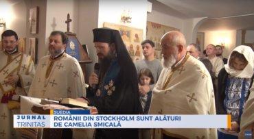 Românii din Stockholm sunt alături de Camelia Smicală (preluare TrinitasTV)