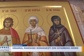 Hramul parohiei românești din Nykøbing-Mors