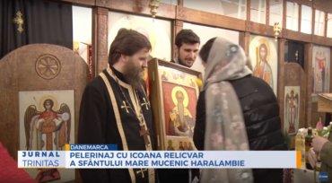 Pelerinaj cu icoana relicvar a Sfântului Mare Mucenic Haralambie