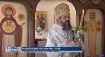 A doua zi a Sfintelor Paști, la Paraclisul Centrului Episcopal din Stockholm (preluare TRINITAS TV)