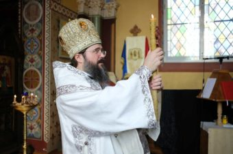 """""""Noi avem o singură cale pe care o urmăm: calea apostolească!� Cuvântul Episcopului Macarie Drăgoi la Sfânta Liturghie din Paraclisul Centrului Episcopal din Stockholm, sâmbătă, 2 mai 2020"""