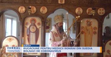 Rugăciune pentru mediicii români din Suedia bolnavi de coronavirus