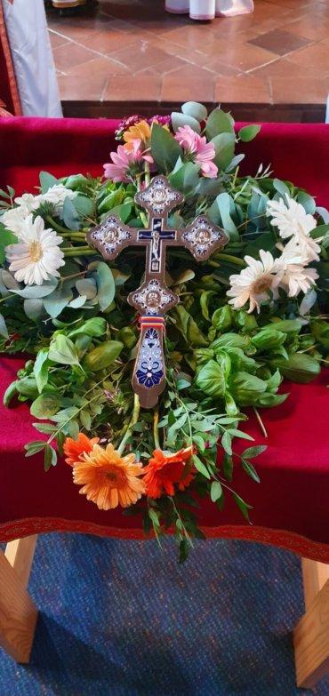 Înălțarea Sfintei Cruci, cinstită de românii din Stockholm (preluare TRINITAS TV)