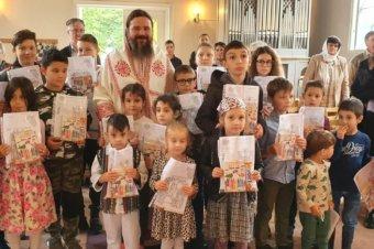 În duminica dinaintea Înălțării Sfintei Cruci, 13 septembrie 2020, Preasfințitul Părinte Episcop s-a aflat în mijlocul românilor din orașul Växjö