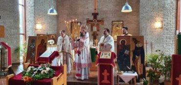 """PS Părinte Episcop Macarie: """"Amprenta Crucii nu poate fi ștearsă din ADN-ul cosmosului!"""", Praznicul Înălțării Sfintei Cruci, Stockholm, 14 septembrie 2020"""