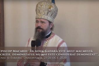"""PS Episcop Macarie: """"În noua Gadară este mult mai multă ipocrizie, demonizatul nu mai este considerat demonizat!"""", Odense și Esbjerg, Danemarca, 25-26 oct. 2020"""