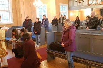 """PS Părinte Episcop Macarie: """"Hristos nu te lasă singur!"""", Tromsø, Norvegia, 18 octombrie 2020"""