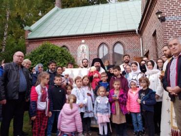 Preasfințitul Părinte Episcop Macarie Drăgoi al Europei de Nord  în misiune pastorală în orașele suedeze Helsingborg și Lund, 2-3 octombrie 2020 (imagini)