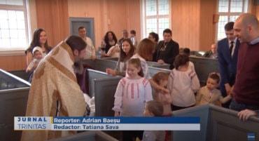 Slujire arhierească în Parohia Ortodoxă Română din Skjervøy (preluare TRINITAS.TV)