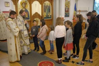 PS Părinte Episcop Macarie Drăgoi al Europei de Nord în slujire euharistică în Jönköping, Suedia, 4 octombrie 2020 (imagini)