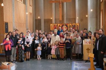 """PS Părinte Episcop Macarie: """"La Dumnezeu nu merge cu jumătăți de măsură!"""", Lund, Suedia, 3 octombrie 2020 (predica video)"""