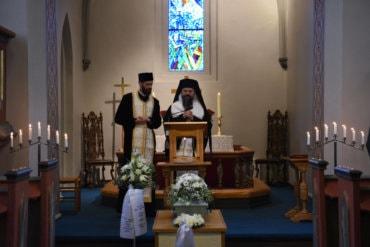 """Episcopul Macarie la înmormântarea pruncului Victor: """"Pierdem un pruncuț aici pe pământ, însă câștigăm un îngeraș în Rai!"""", Trondheim, Norvegia, 9 octombrie 2020 (predica video)"""