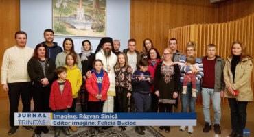 Binecuvântare arhierească pentru românii din orașul Luleå (preluare Trinitas.tv)