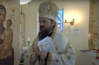 Cu lacrimi de bucurie și nădejde, emoționantul cuvânt al PS Părinte Episcop Macarie Drăgoi despre Sfinții Îngeri și Sfântul Nectarie de la Eghina rostit în 9 noiembrie 2019, la Trollhättan, în Suedia