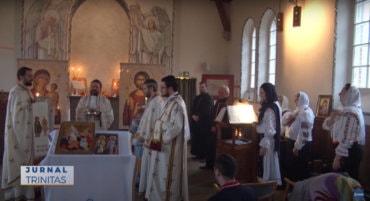 Biserica românească din Borås și-a sărbătorit hramul (preluare TRINITAS.TV)