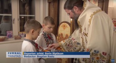 Zi de Praznic la Centrul Episcopal din Stockholm (preluare TRINITAS.TV)