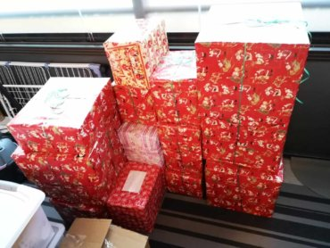 Daruri de Crăciun din Episcopia Europei de Nord pentru copiii nevoiași de la Valea Plopului, jud. Prahova