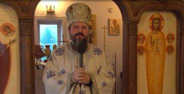 """Episcopul Macarie: """"Iubiți părinți, vă rog să luați aminte la copiii voștri! Să nu îi lăsați captivi în cuștile de sticlă!"""" Paraclisul Episcopal, Stockholm, duminică, 3 ianuarie 2021"""