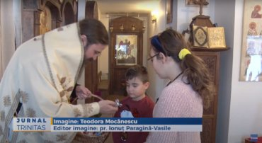 Episcopul ortodox român al Europei de Nord a slujit la Paraclisul Centrului Episcopal din Stockholm (preluare TRINITAS.TV)