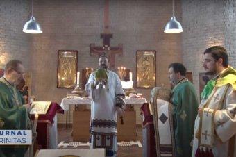 """Hramul Parohiei românești """"Sfântul Ioan Botezătorul"""" din Stockholm (preluare TRINITAS.TV)"""