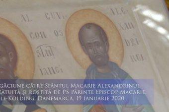 Rugăciune către Sfântul Cuvios Macarie Alexandrinul, pentru dobândirea smereniei și dragostei față de aproapele (a Episcopului Macarie Drăgoi)
