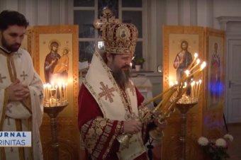 Liturghie arhierească în prima zi a noului an, în Parohia Românească din Uppsala