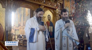 Preasfințitul Părinte Macarie a slujit în satul natal (preluare TRINITAS.TV)