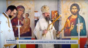 Binecuvântare arhierească pentru românii din Borås (preluare TRINITAS.TV)