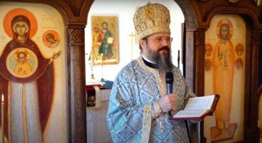 """Episcopul Macarie: """"Nu ezitați să alergați la Maica Domnului! Mamelor, luptați pentru sufletele copiilor voștri!"""" Buna Vestire, 25 martie 2021, Paraclisul Episcopal din Stockholm"""