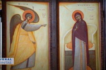 Credincioșii din Stockholm s-au rugat Maicii Domnului la Paraclisul Centrului Episcopal (preluare TRINITAS.TV)
